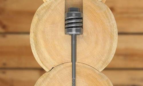 пружинный узел для дикого сруба