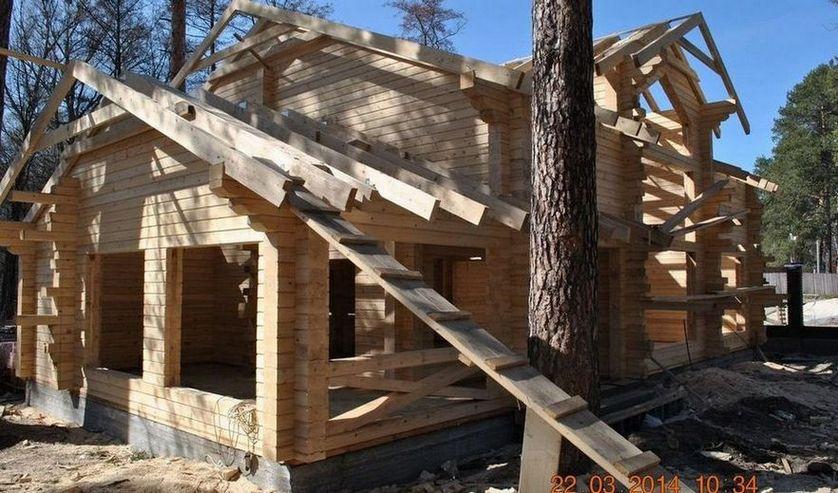 Технологии строительства деревянных домов из профилированного бруса