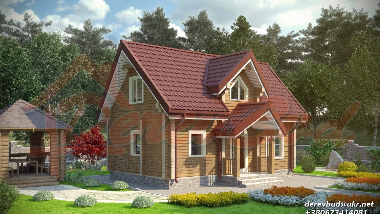 Дом из бруса со скидкой