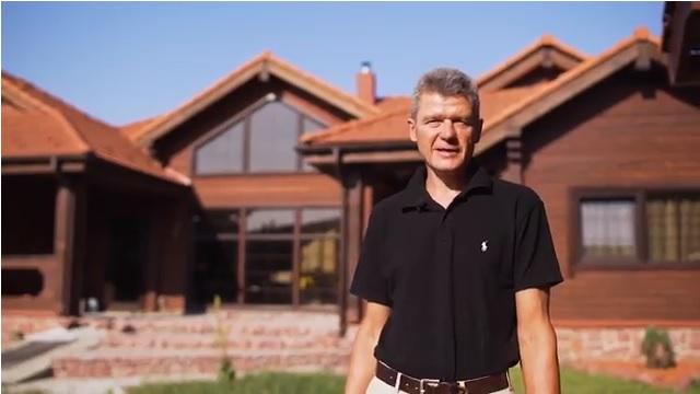 Дом из профилированного бруса - видео